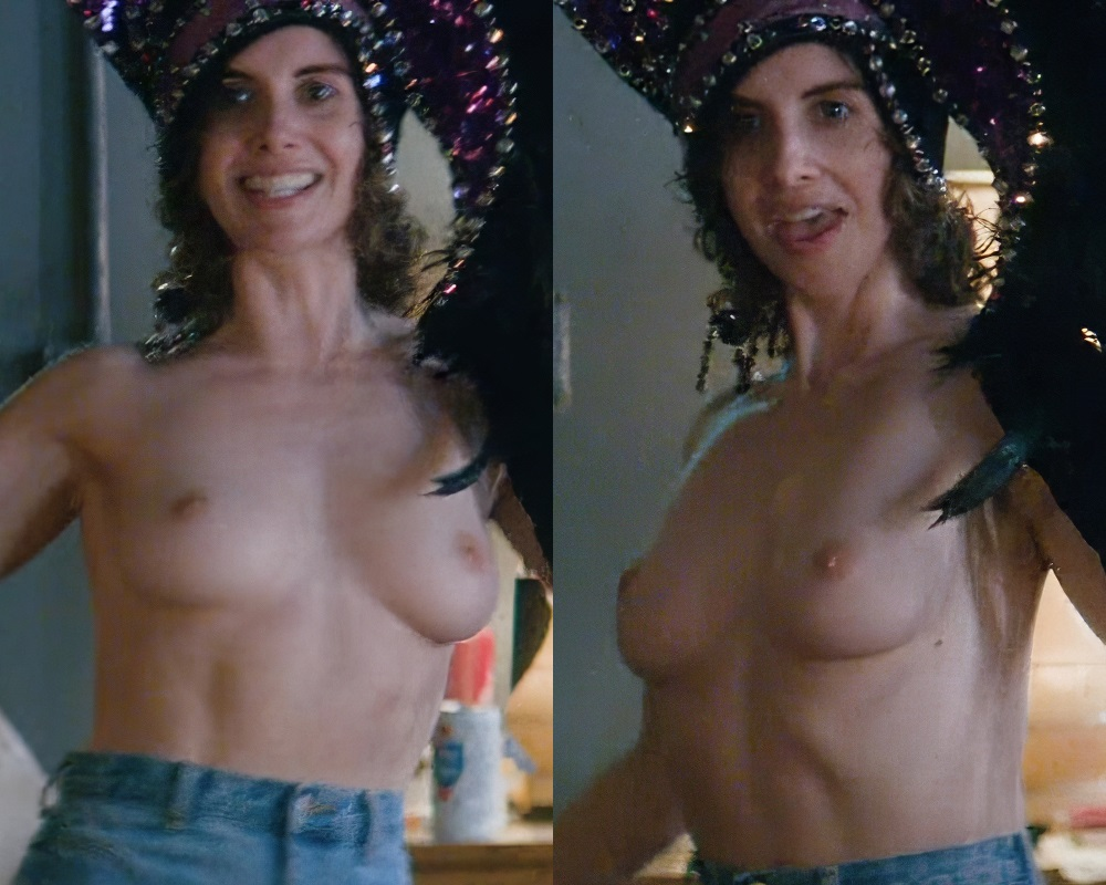 Alison Brie nude topless Glow