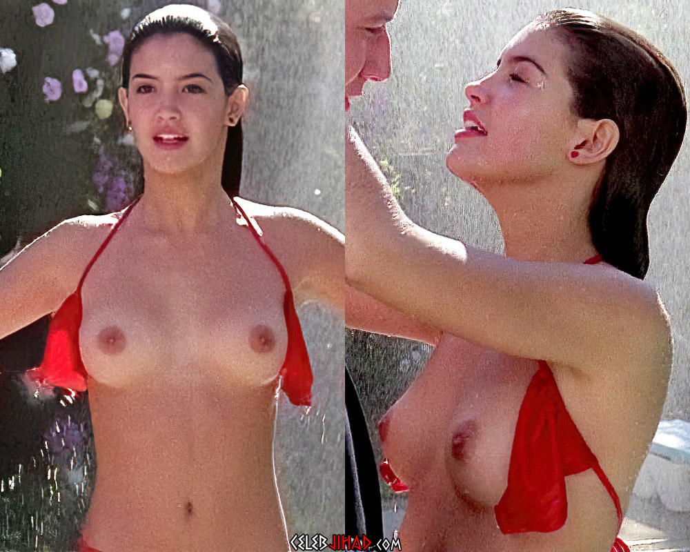Phoebe Cates' Iconic Nude Scene A.I. Enhanced